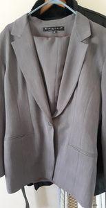 Women's Charcoal Grey Pant Suit